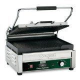 Waring Commercial WPG250TB Grooved Panini Grill with Timer, 208-volt