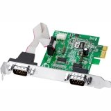 SIIG 9-pin CyberSerial Dual PCI Express Card
