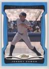 #5: Johnny Damon #/399 (Baseball Card) 2009 Topps Finest - [Base] - Blue Refractor #89