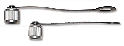 Appion KTCAP10-38 MegaSeal 3/8' Cap with Strap - 10 pack (Flare 0.375' Female)