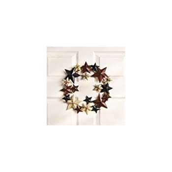 americana star wreath wreaths and floral home kitchen