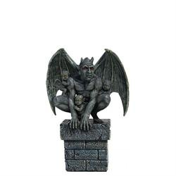 BricksNmortar.com Gargoyle Protector with 3 Babies – Small Statue