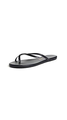 TKEES Women's Riley Flip Flops, Sable, 10 M US