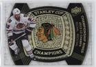Michal Rozsival (Hockey Card) 2013-14 Upper Deck Black Diamond - Stanley Cup Champions Championship Rings 2012-13 Chicago Blackhawks ()