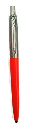 Parker Point Medium (Parker Medium Point Blue Ink Jotter Ballpoint Pen, Orange (PR51805OR))