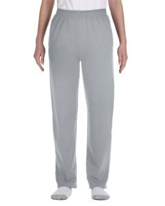 Jerzees Youth 8 oz.; 50/50 NuBlend� Open-Bottom Sweatpants - OXFORD - M (8 Oz Sweatpant)