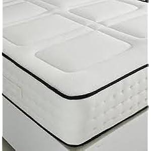 Trinity Shopping Lujo de Espuma con Efecto Memoria 1500 muelles ensacados colchón Doble (4ft6)