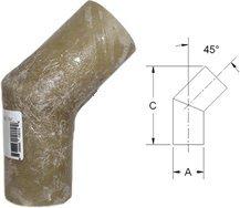 Centek 45 Elbow (Centek Elbow-45 Deg 10 In 1200204)