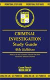 img - for CRIMINAL INVESTIGATION 6th Edition Promotional Study Guide book / textbook / text book