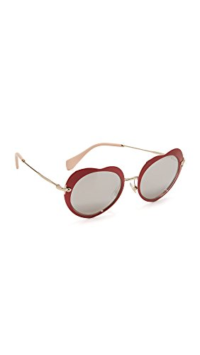 Miu Miu Sonnenbrille (MU 54RS) red