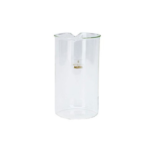 33 Oz Glass (Alessi Replacement Glass for Coffee Press 33oz)