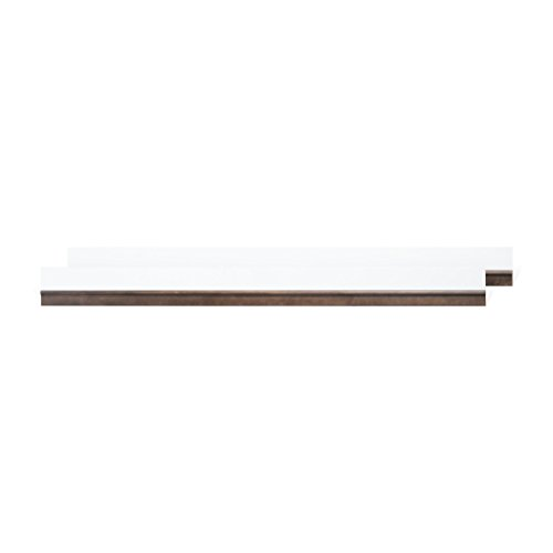 (Child Craft Studio Full-size Bed Rails F06494.84, Matte White/Slate)