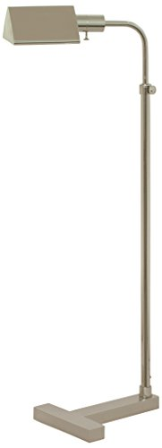 House of Troy F100-PN Fairfax Pharmacy Adjustable Floor Lamp, Polished Nickel