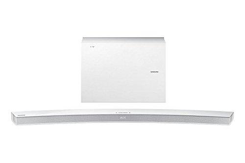 Samsung HW-J6502/EN weiß AV-Elite Curved Soundbar mit wireless Subwoofer
