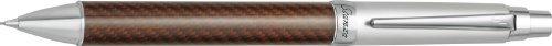 Pilot Stanza Carbon Fiber Collection Mechanical Pencil, Brown Barrel, 0.5 Millimeter Lead (60763) ()