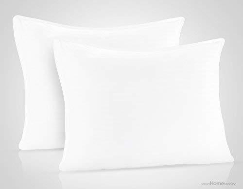 SmartHome Bedding FBA_SHP001 Pillow, Standard/Queen, White