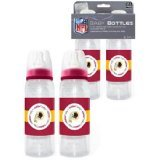 Baby Fanatic NFL Washington Redskins Baby Fanatic 2-Pack of Bottles ()