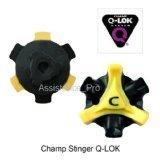Champ Q-lok golf spikes-28 bulk packed