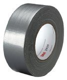 3M Utility Duct Tape 2929 Silver, 1.88 in x 50 yd 5.8 mils (Pack of 24)