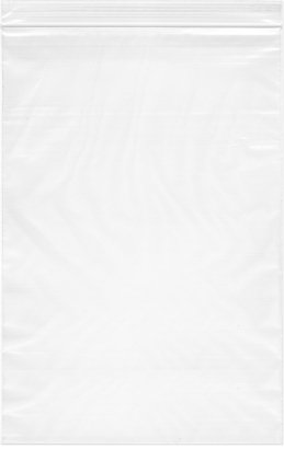 8'' x 12'', 2 Mil (Case of 2,000) Zipper Reclosable Plastic Bags by Plymor