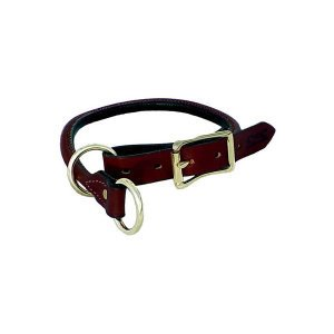 Mendota Products Dog Training Collar, 1-Inch by 20-Inch, Chestnut