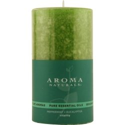 Vitality Aromatherapy One 2.75 X 5 Inch Pillar Aromatherapy Candle. Uses The (Aroma Naturals Pillar Candle)