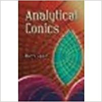 Book Analytical Conics by Barry Spain [Dover Publications, 2007]