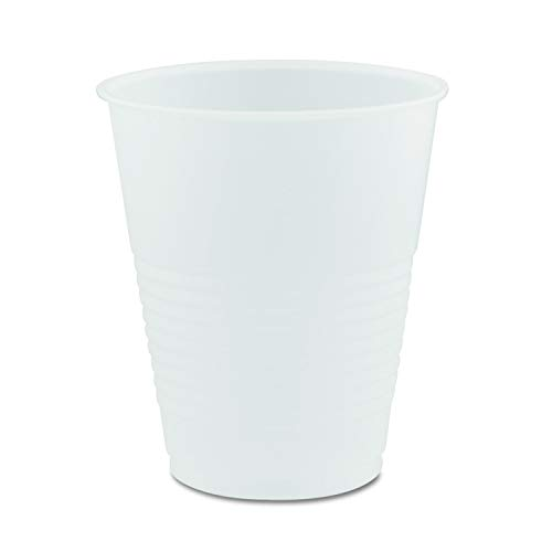 DART Y12S Conex Galaxy Polystyrene Plastic Cold, 12oz Bag of 50 (500 Cups), Clear - Translucent ()