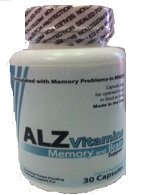 Vitamines Alz - Combinaison des suppléments naturels visant à la maladie d'Alzheimer. Ingrédients noté dans les revues médicales pour augmenter la fonction du cerveau et de réduire les pertes de mémoire.