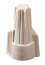 (Ideal 30-341 Twister 341 Wire Connector, Tan (Pack of 100) )