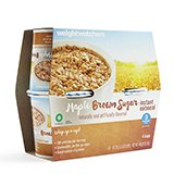 Weight Watchers Maple Brown Sugar Oatmeal 1 package which contains 4 separate cup servings NEW Diet 3 Smart (Which Sugars)