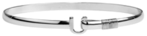 The Hook Company 4mm Titanium Original Hook Bracelet 7.5 In