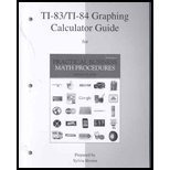 TI-83/TI-84 Graphing Calculator Guide to Accompany Practical Business Math Procedures, Slater, Jeffrey, 0077327985