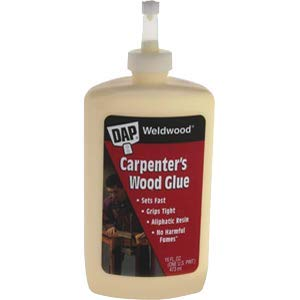 Dap 00491 16 oz. Weldwood Carpenter Glue - 12ct. Case ()