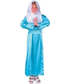 [Child's Virgin Mary Costume (Size:Small 4-6)] (Girls Virgin Mary Costume)