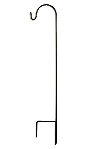 Ashman Shepherd Hook 48 Inches, 2/5 Inch Thick, Super Strong Premium Metal and Rust Resistant Hook, ()