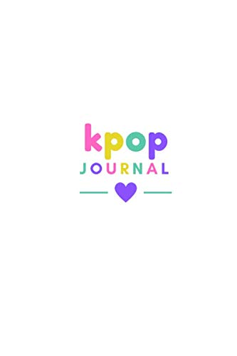 Kpop Journal  Paperback Journal For Kpop Decorate Kpop Journal Cover Kpop Gifts For Teens Fill In Kpop Scrapbook Journal 6x9 Inches