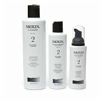 Nioxin Hair System Kit for Fine Hair, System 2: Noticeably Thinning, 1 kit