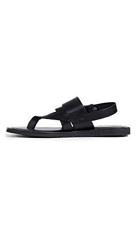 Kenneth Cole New York Men's Reel-ist Flat Sandal, Black, 8 M US by Kenneth Cole New York (Image #2)