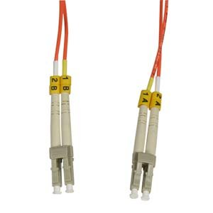 Installerparts 40m LC-LC Duplex Multimode 62.5/125 Fiber Optic Cable (Type 55 Flush)