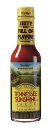 TryMe Tennessee Sunshine Hot Pepper Sauce - 5 oz. (Pack of 6)