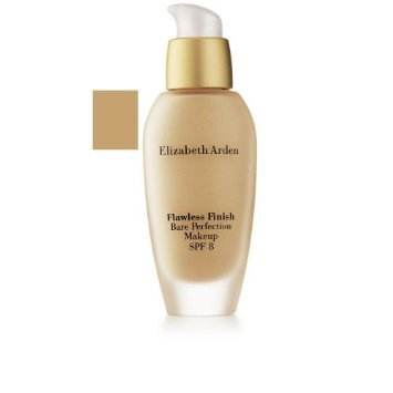 Elizabeth Arden Flawless Finish Foundation - Elizabeth Arden Flawless Finish Bare Perfection Makeup SPF 8, 53 Warm Bronze