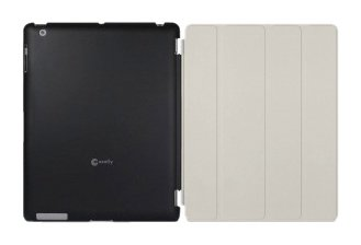 Macally Protective Case for iPad 2 Smart Cover (SMARTMATE)