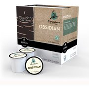 Caribou Coffee Obsidian Evil Roast K-Cups Coffee, 18 count(Case of 2)