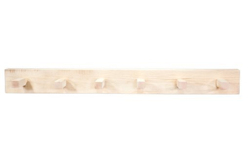 Montana Woodworks MWHCCR4 Homestead Collection Coat Rack, 4-Feet, Ready to Finish