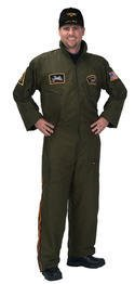 Adult Armed Forces Pilot Suit - 2