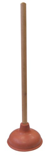 Cobra Products 301 6-Inch Force Cup Plunger with Wood Handle by Cobra Products