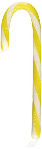 Lemonhead Candy Canes, Two Pack of 6, (12 Total)