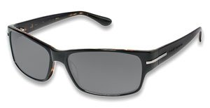 Tommy Bahama Sunglasses TB535SP 001 Black Tortoise Grey Polarized 59 15 ()