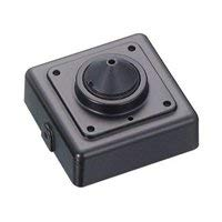 KT&C KPC-V700NUP4 750 TVL Digital Miniature Square Mini Board Camera 4.3mm Super Cone Pinhole Lens, Black